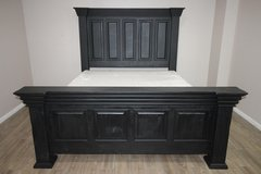 King Wood Bed (BLACK) in Kingwood, Texas