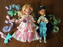Lady Lovely locks and Prince Strongheart dolls in Plainfield, Illinois