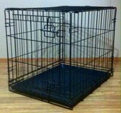 Black Wire Pet Crate in DeRidder, Louisiana