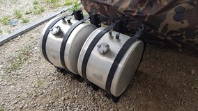 Two Aluminum Fuel Tanks with Cradle Mounts in Fort Leonard Wood, Missouri