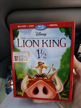 Lion king 1 1/2 and lion king 2 in Fort Lewis, Washington