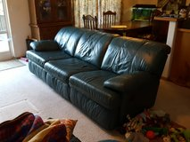 leather couch in Olympia, Washington