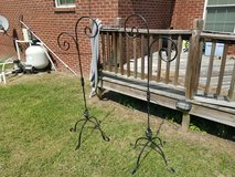 Two Wrought Iron Plant Holders! in Warner Robins, Georgia