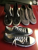 SIZE 12 Vans / 11 Converse in Vacaville, California