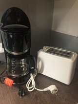 220 Coffee Maker & 220 Toaster in Stuttgart, GE
