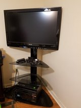 "42"" Philips Television w/Corner Rack in Fort Knox, Kentucky"