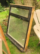 Window frame for cold frame in Lakenheath, UK