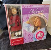 AMERICAN GIRL REBECCA MINI DOLL AND 6 BOOK BOXED SET with Board Game  NEW in Camp Pendleton, California