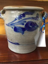 Small German Stoneware Crock in Ramstein, Germany