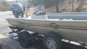 G3 1860 deluxe 18ft boat 2004, 90 hp Yamaha motor with Jet in Fort Leonard Wood, Missouri