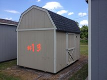 8x12 Lofted Barn Storage Shed Building REDUCED!! in Moody AFB, Georgia