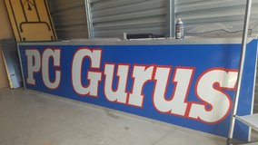 10 Ft X 30 Inches Lighted Sign-NEED TO SELL!!! MAKE ME AN OFFER!!! in Clarksville, Tennessee