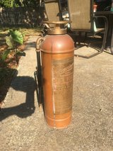Antique Guardene Copper/Brass Fire Extinguisher in Beaufort, South Carolina