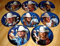 Alan Jackson Plates in Nellis AFB, Nevada
