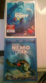 Brand NEW sealed Finding Nemo and Finding Dory DVD/Blu-ray BOTH $15.00 in Fairfield, California