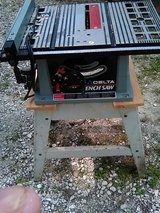 TABLE SAW AND STAND in Kingwood, Texas