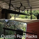 Custom Rod Racks in Camp Lejeune, North Carolina