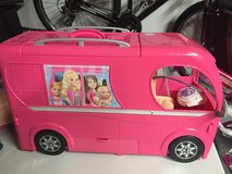 Barbie pop up camper with accessories in Morris, Illinois