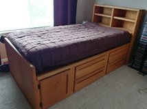 Twin bed w/mattress and dresser in Plainfield, Illinois
