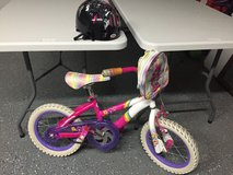 "12"" Carebear bicycle with helmet in Morris, Illinois"