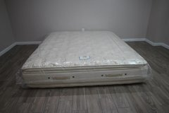 Stearns and Foster Cal King Rose Mist Plush Euro Double Pillowtop mattress in Tomball, Texas