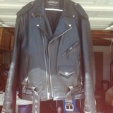 Leather Motorcycle Jacket in 29 Palms, California