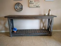 Rustic entry table/sofa table in Kingwood, Texas