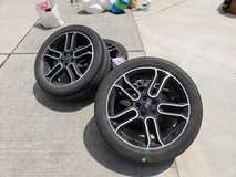 20 inch rims with 255/45r20's in Cleveland, Texas
