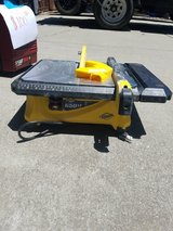 Tile saw 650 QEP in Travis AFB, California