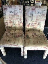 Douglas furniture Set of 4 Fabric Chairs chairs in Vacaville, California