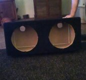 giant dual 12 inch woofer box in 29 Palms, California