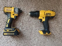 brushless impact  drill w/ compact drill and other items in Fort Lewis, Washington