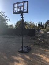 basketball hoop in Yucca Valley, California