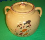 Antique Cookie Jar / Bean Pot in Bolingbrook, Illinois