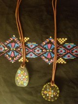 Boho Rustic Wooden Necklaces  (Handcrafted) in Alamogordo, New Mexico