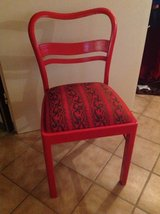 2 Vintage Red Chairs in Ramstein, Germany