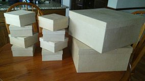 Paper Mache Craft boxes (Square) in Plainfield, Illinois
