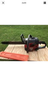 """18""""  CRAFTSMAN Gas Powered 42 cc CHAINSAW 18 Inch With ROLLER NOSE Bar in Lockport, Illinois"""