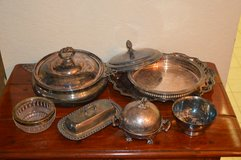 Various Silverplate Trays/Bowls/Etc. in Beaufort, South Carolina