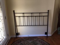 Iron Headboard for Full Size Bed in Bolingbrook, Illinois
