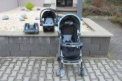 Graco LiteRider Click Connect Travel System, Sully ( Travel system stroller) in Wiesbaden, GE