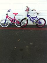 "2 Girls Bikes 16"" and18"" in Oceanside, California"