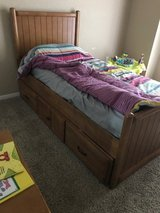Twin Size Captains Bed in Fort Hood, Texas