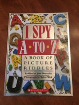 I Spy A to Z A Book of Picture Riddles in Bolingbrook, Illinois
