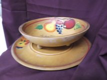 Bowl and Plate in Alamogordo, New Mexico