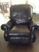 Leather Rocker/Recliner in Conroe, Texas
