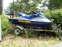 2002 seadoo rxdi with trailer in Beaufort, South Carolina