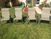 4 backyard chairs in Camp Pendleton, California