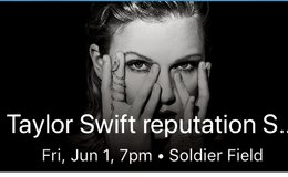 Taylor Swift Reputation Tour Tickets for Friday, June 1! in Naperville, Illinois