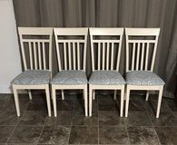 4 Solid Wood Dining Chairs in Cary, North Carolina